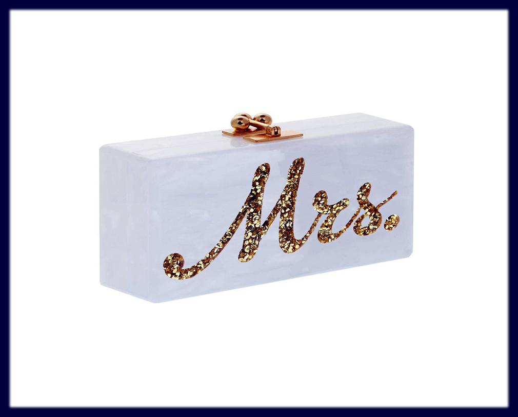 mrs bag for bride