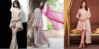 Pakistani Peplum Style Dresses for Girls in 2021 with Latest Collection