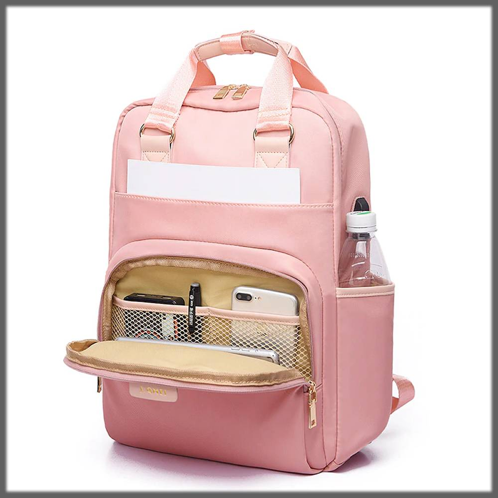 perfect backpack for ladies with charging port