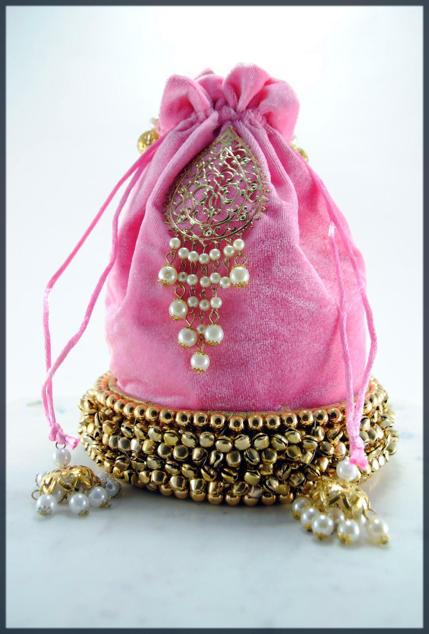 stunning potli bag for bride