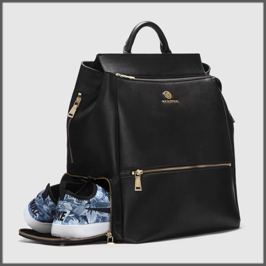 stylish gym backpack for women