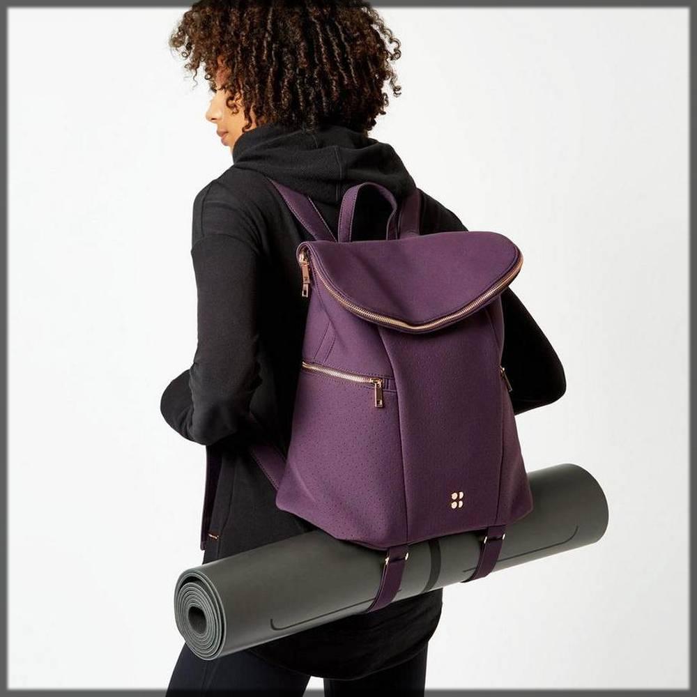 stylish gym backpacks for women