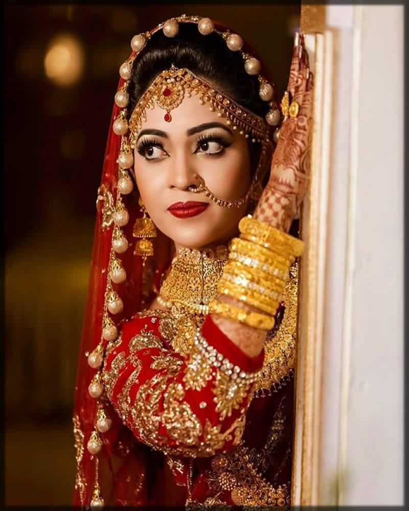 Beautiful matha patti