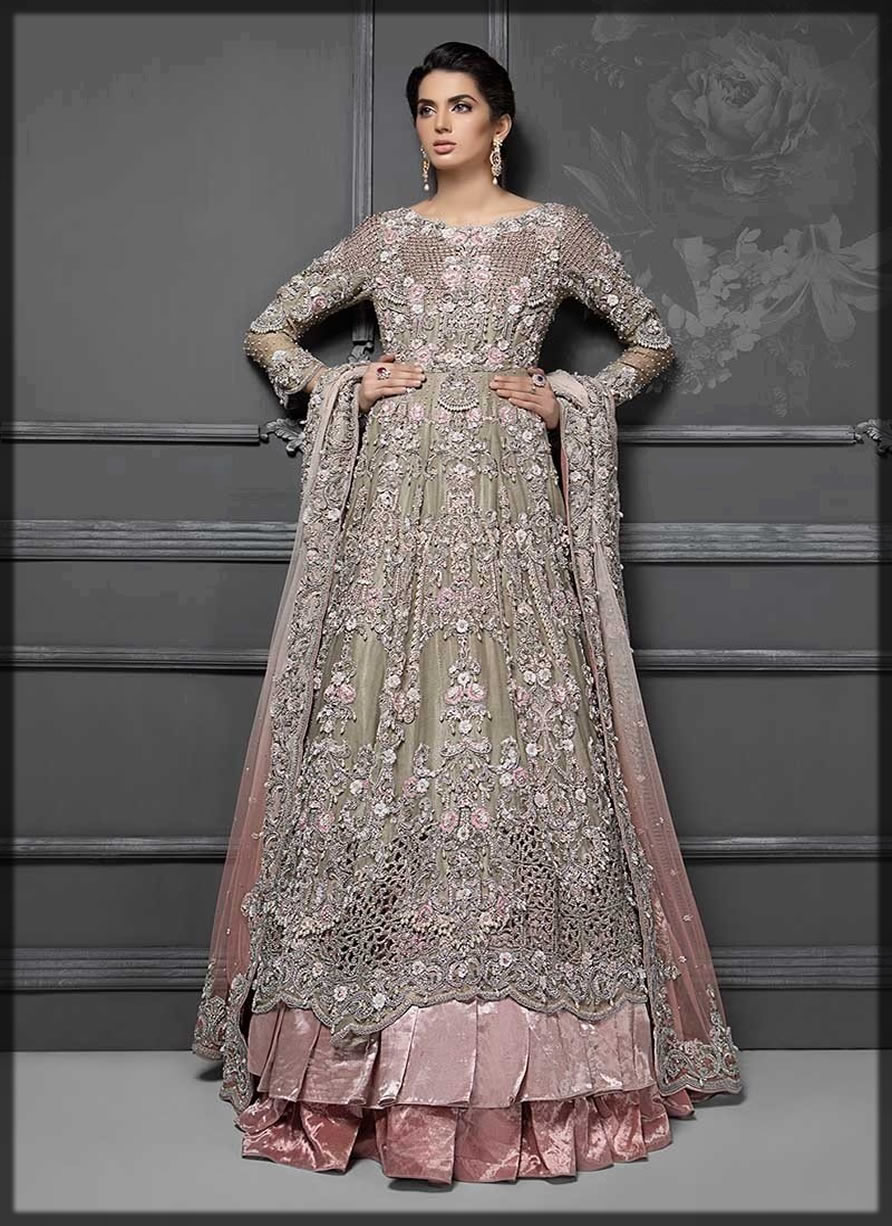 walima Pakistani wedding frocks