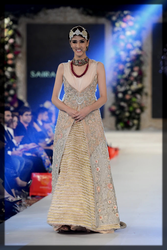 walima gown for bride by saira