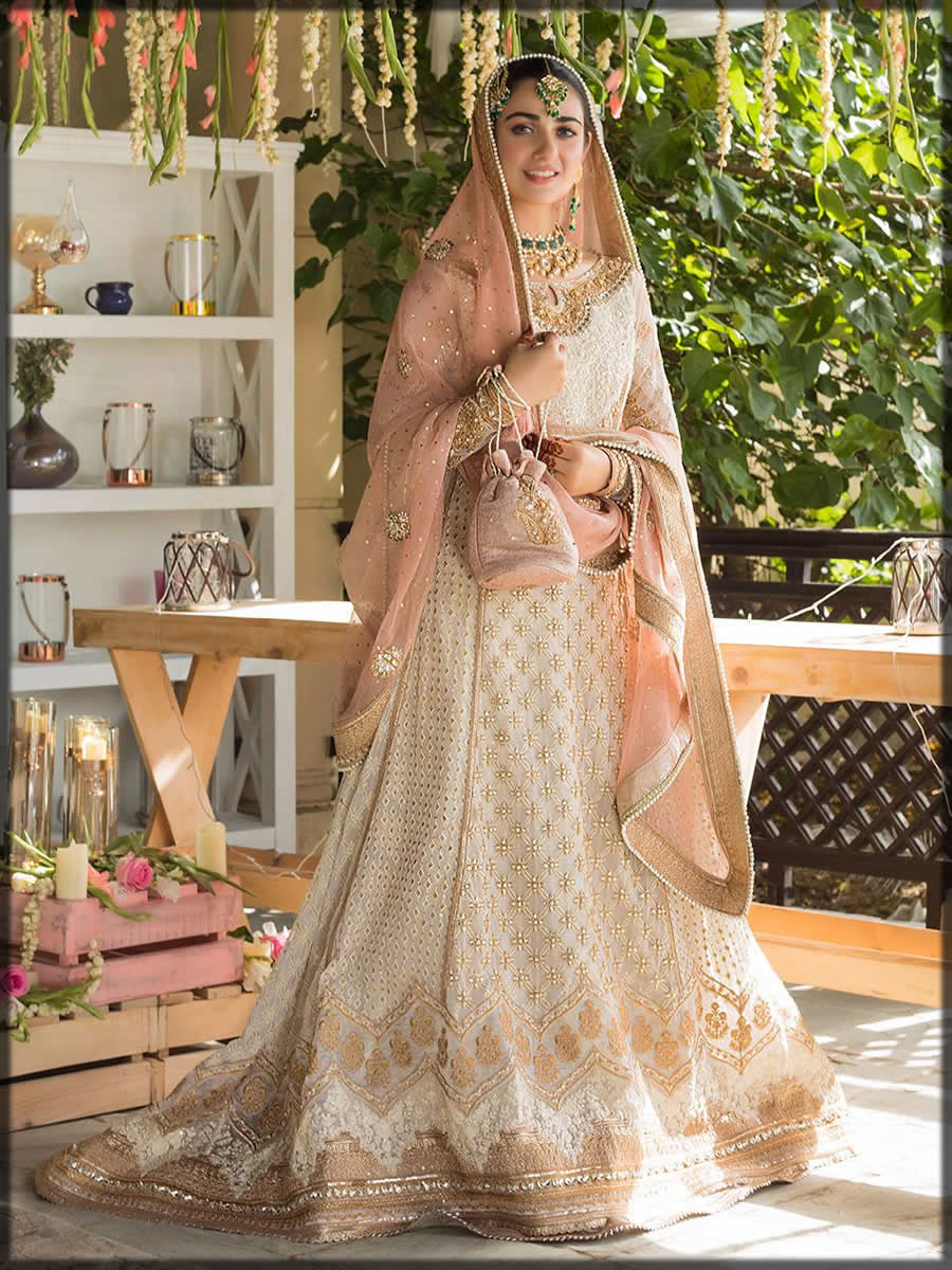 Pakistani Lawn Designer bridal wear