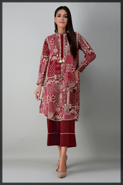 2pc floral printed suit
