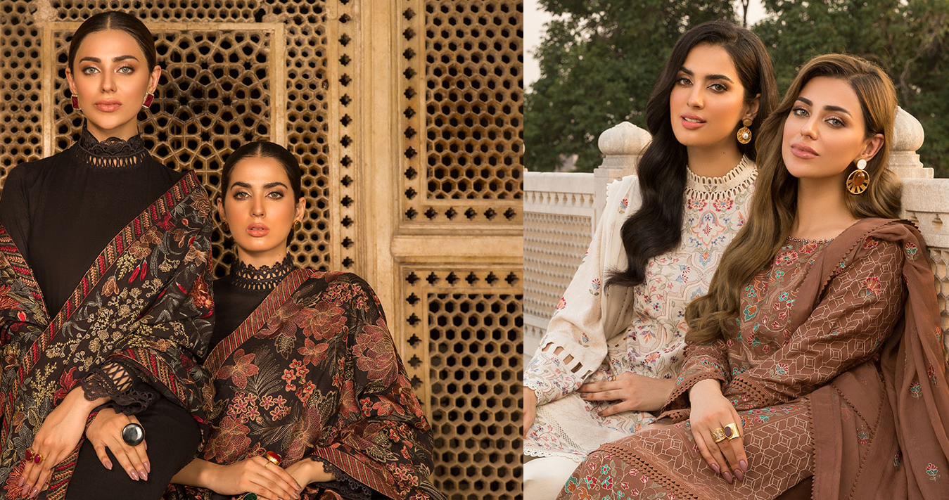 Bareeze Winter Collection with Price for women