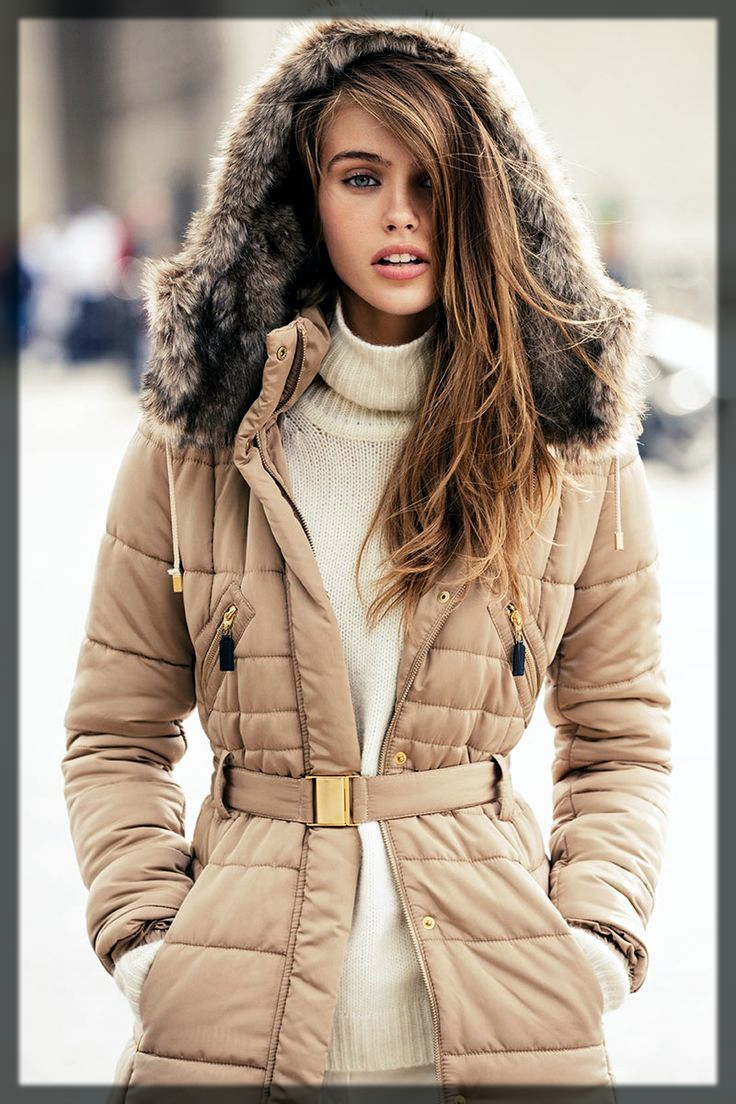 Belted Winter Jackets