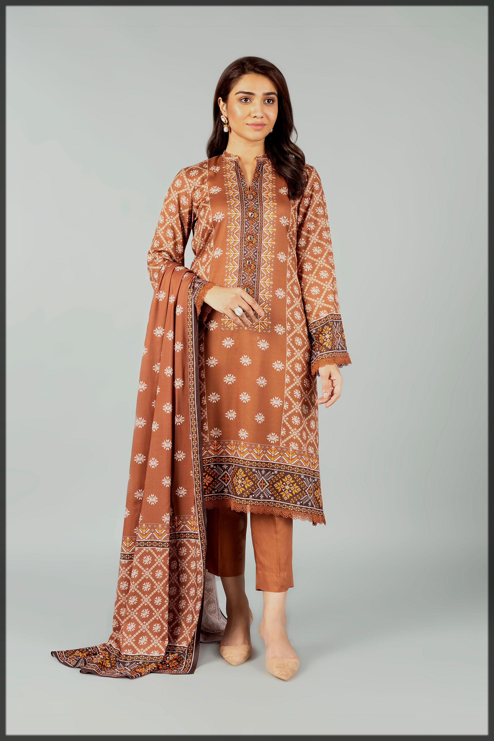 Classy Casual and Printed Winter Dresses