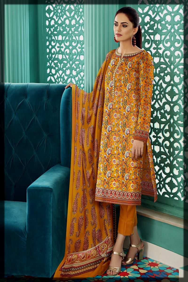 Classy Gul Ahmed Winter Collection