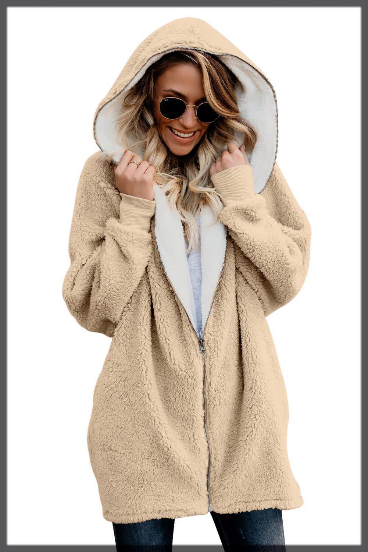 Fleece Winter Jackets For Women