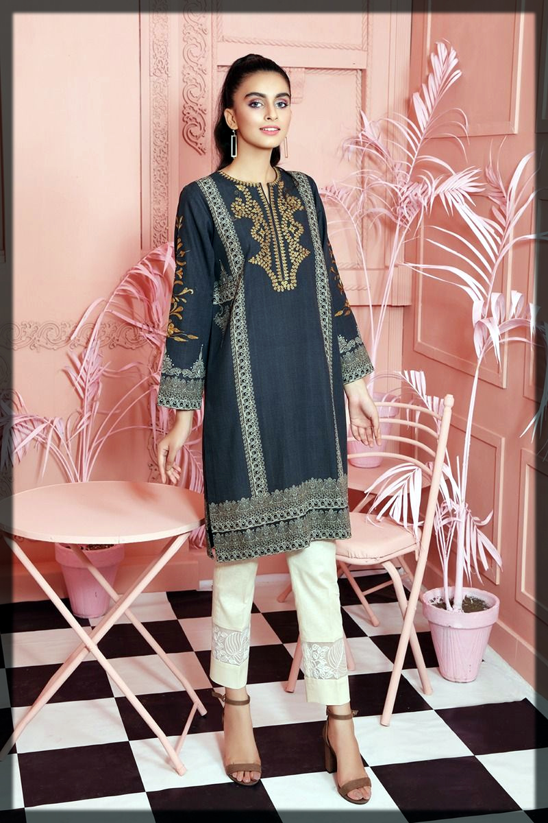 Nishat Linen Winter Collection for ladies