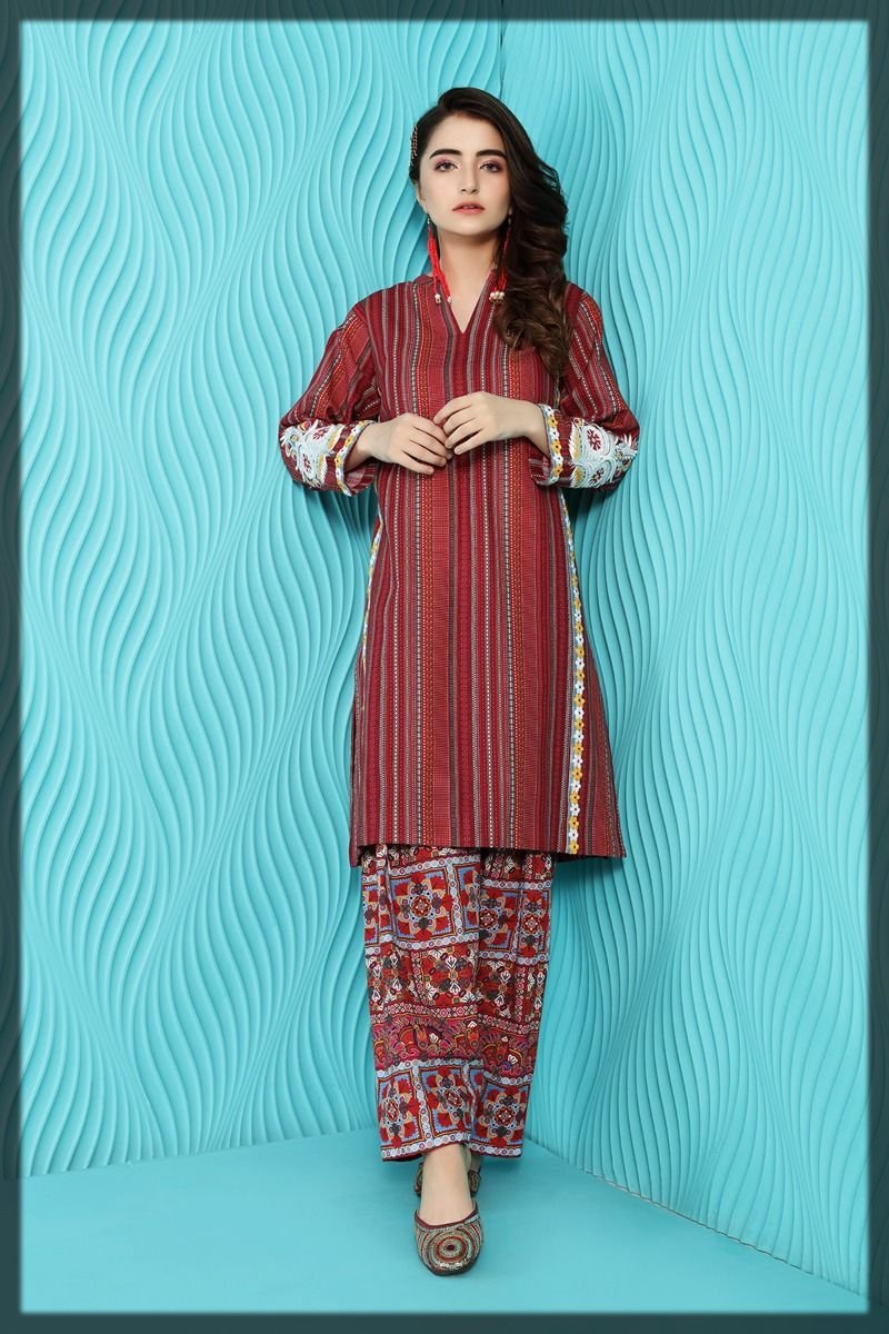 Nishat Linen Winter Collection for women