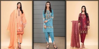 So Kamal Winter Collection 2021 - Beautiful Winter Dresses with Price