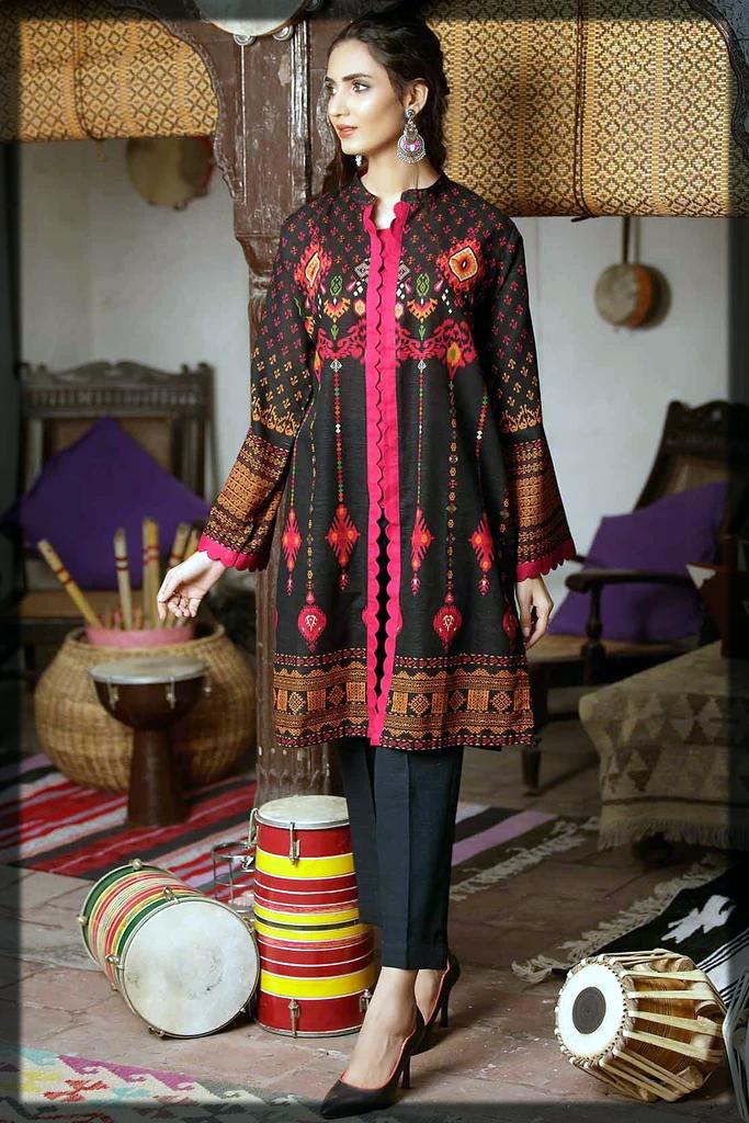 Striking Khaddar Outfits BY WARDA