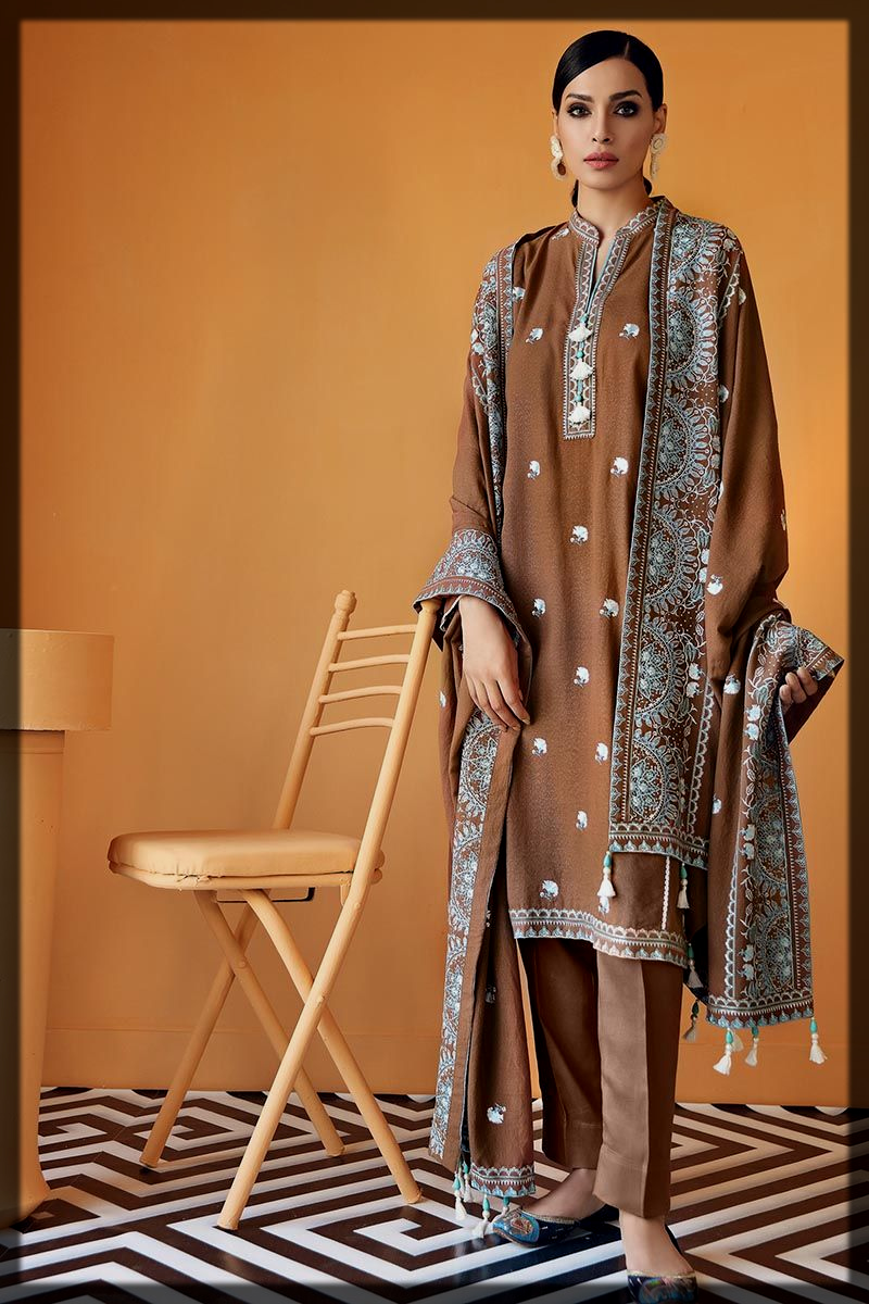 alluring 3PC winter collection for women