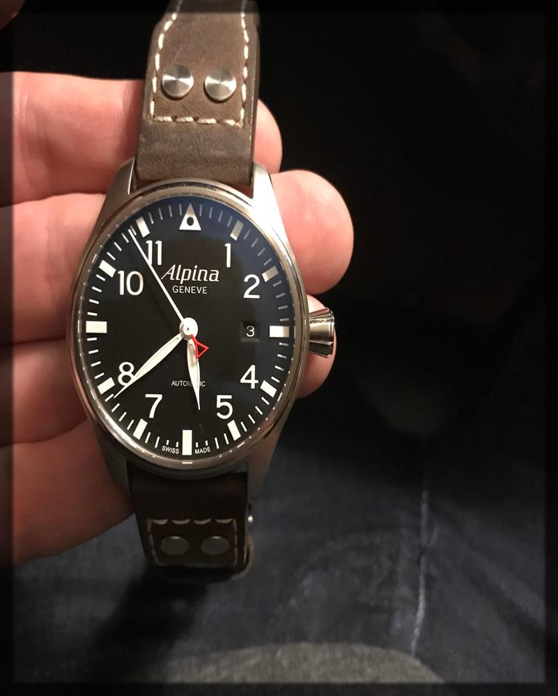 alpina classic watch