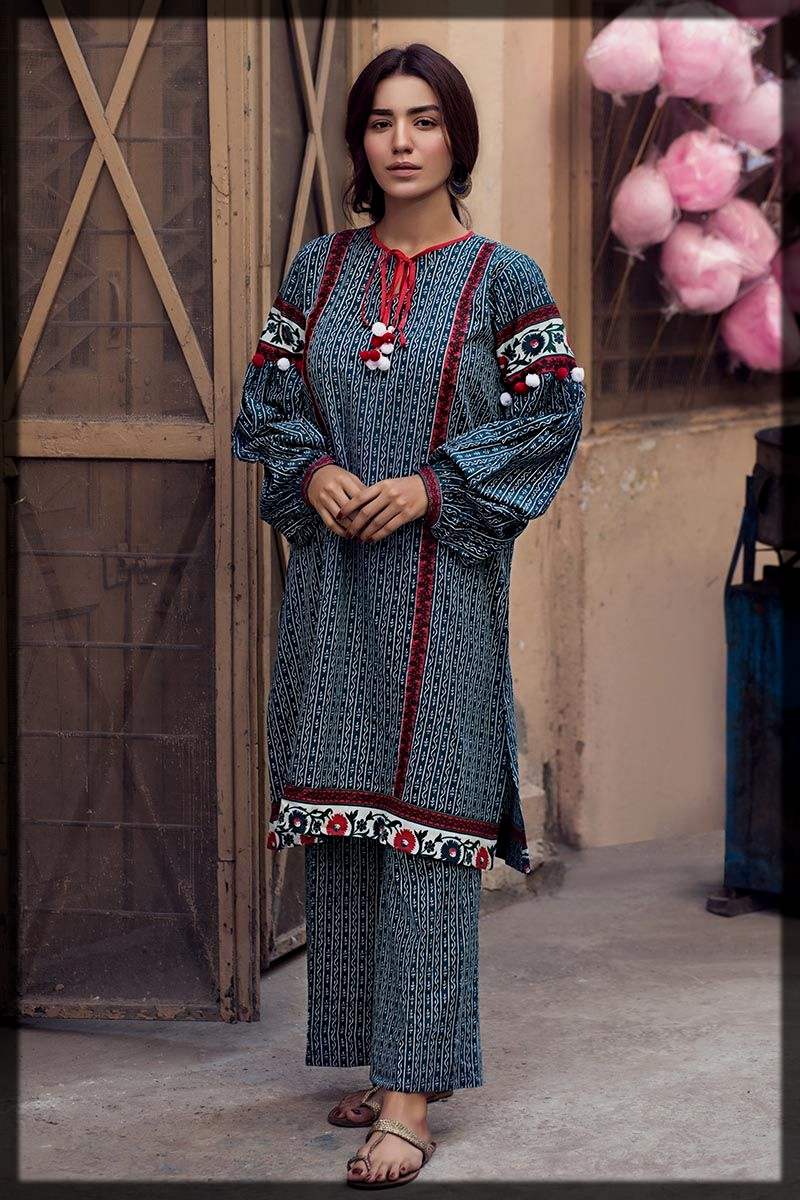 appealing winter printed attires