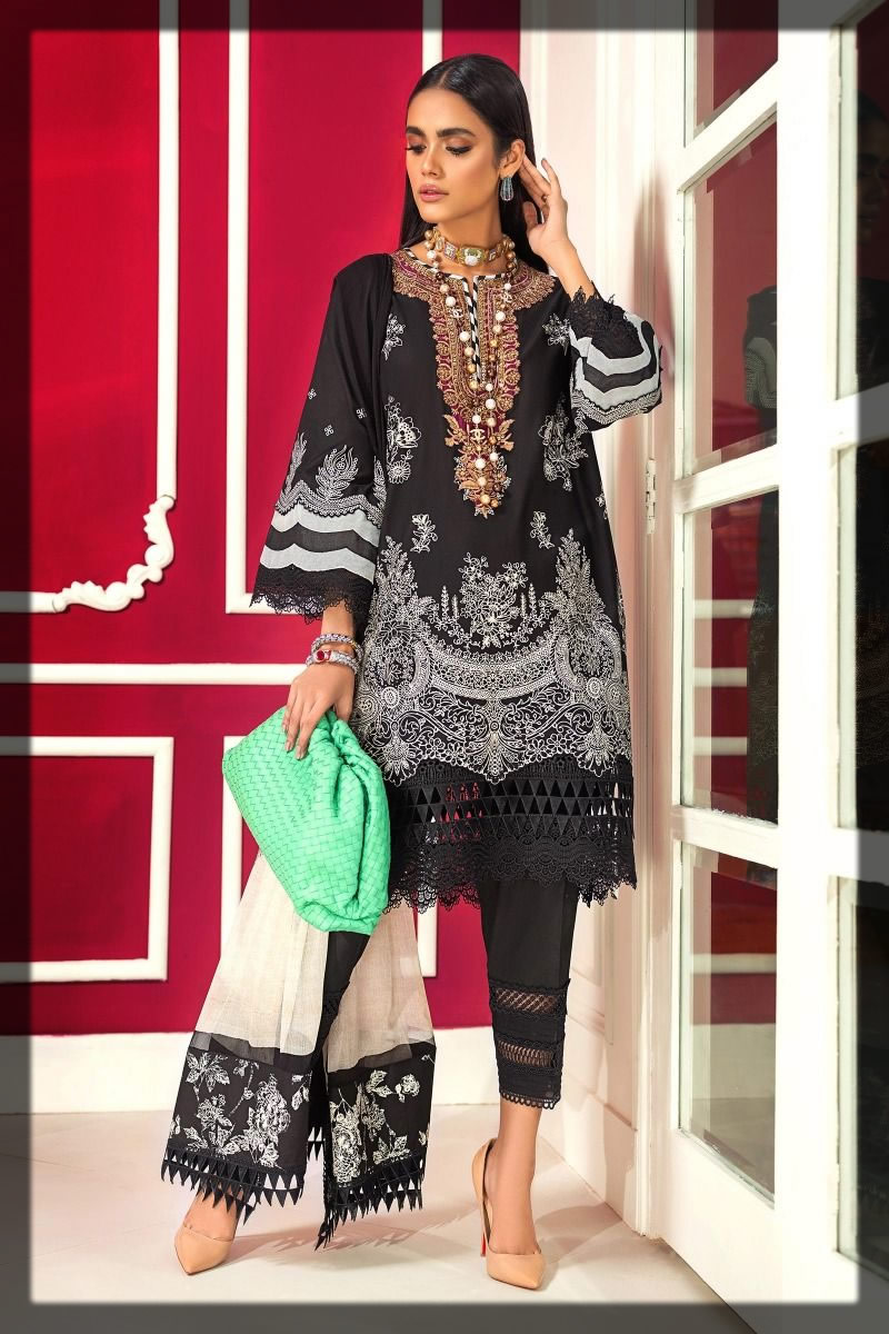 classic black winter dress