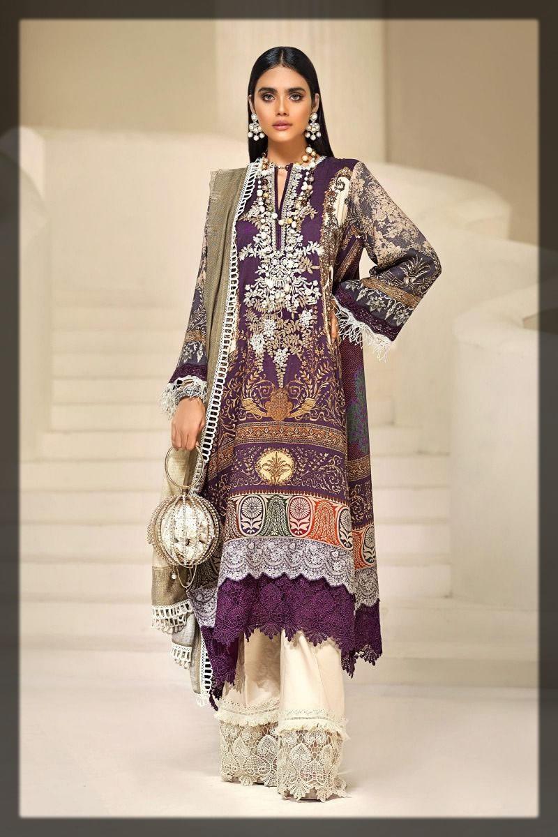 classic purple winter dress