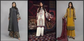 Maria B Winter Collection 2021 with Chiffon Dupatta and Shawl [Prices]