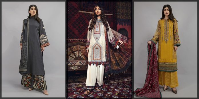 classy and dazzling maria b winter collection
