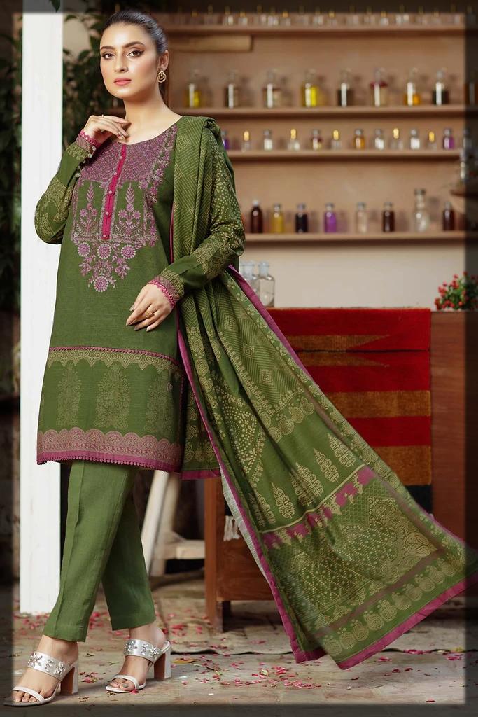 dazzling green warda winter collection