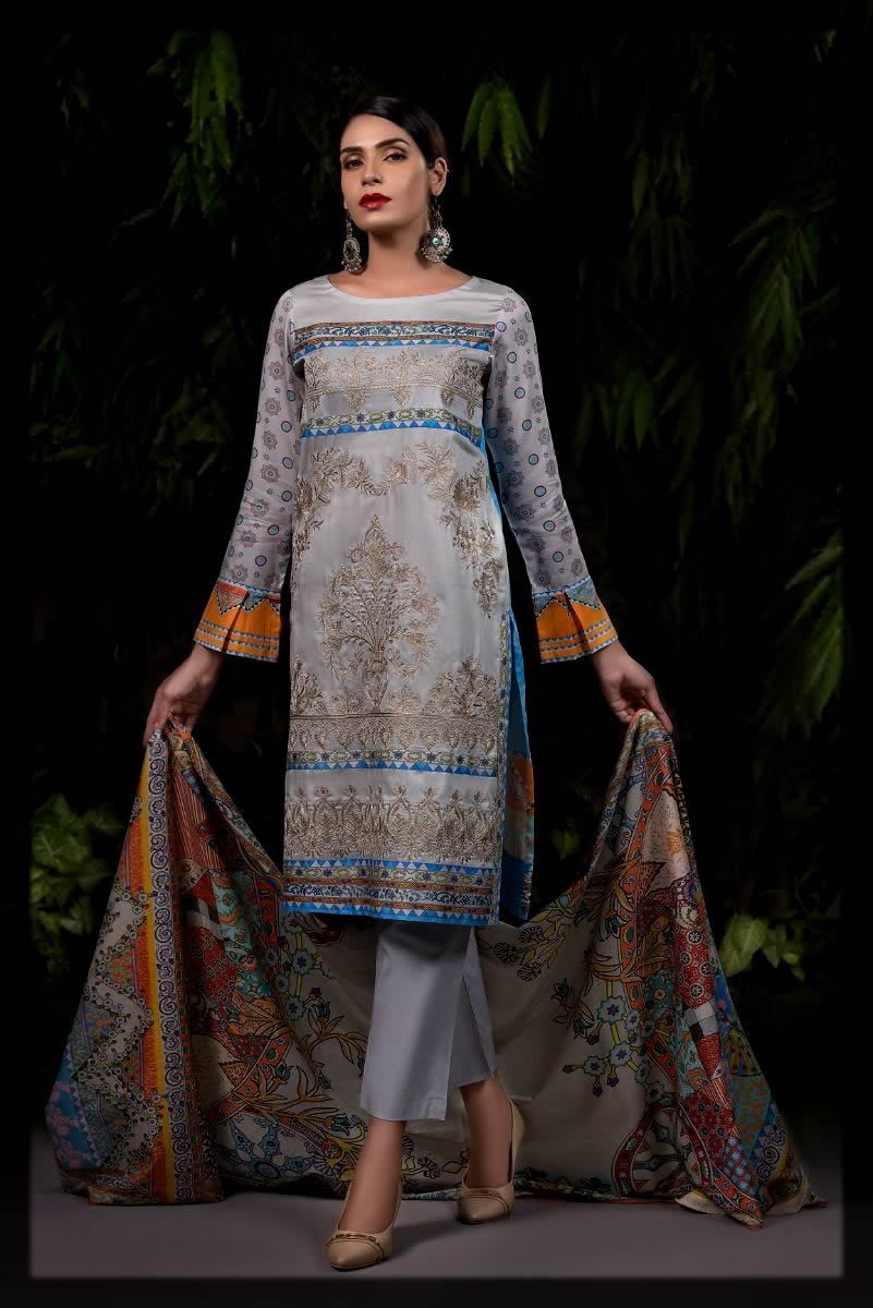 embroidered winter collection