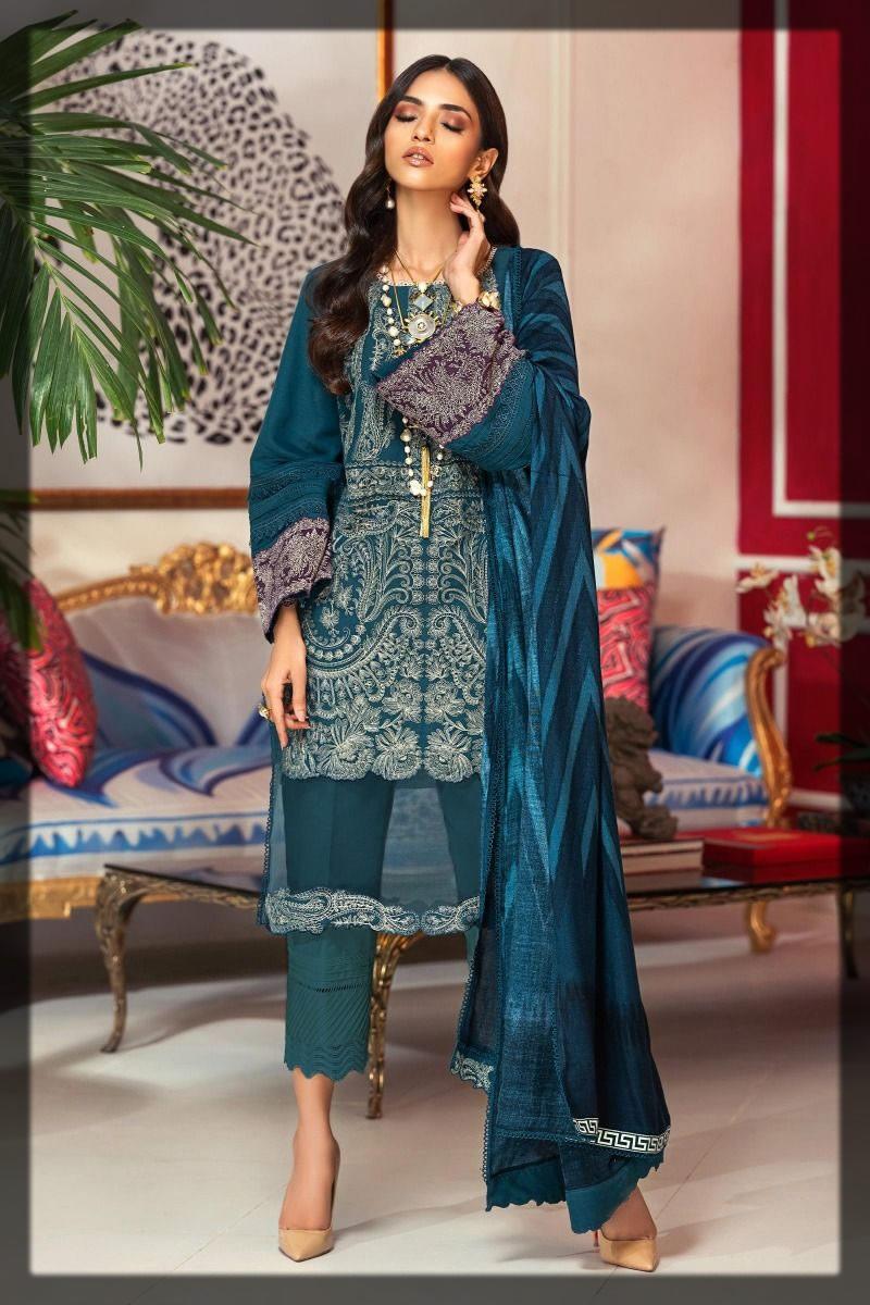 eminent blue winter dress