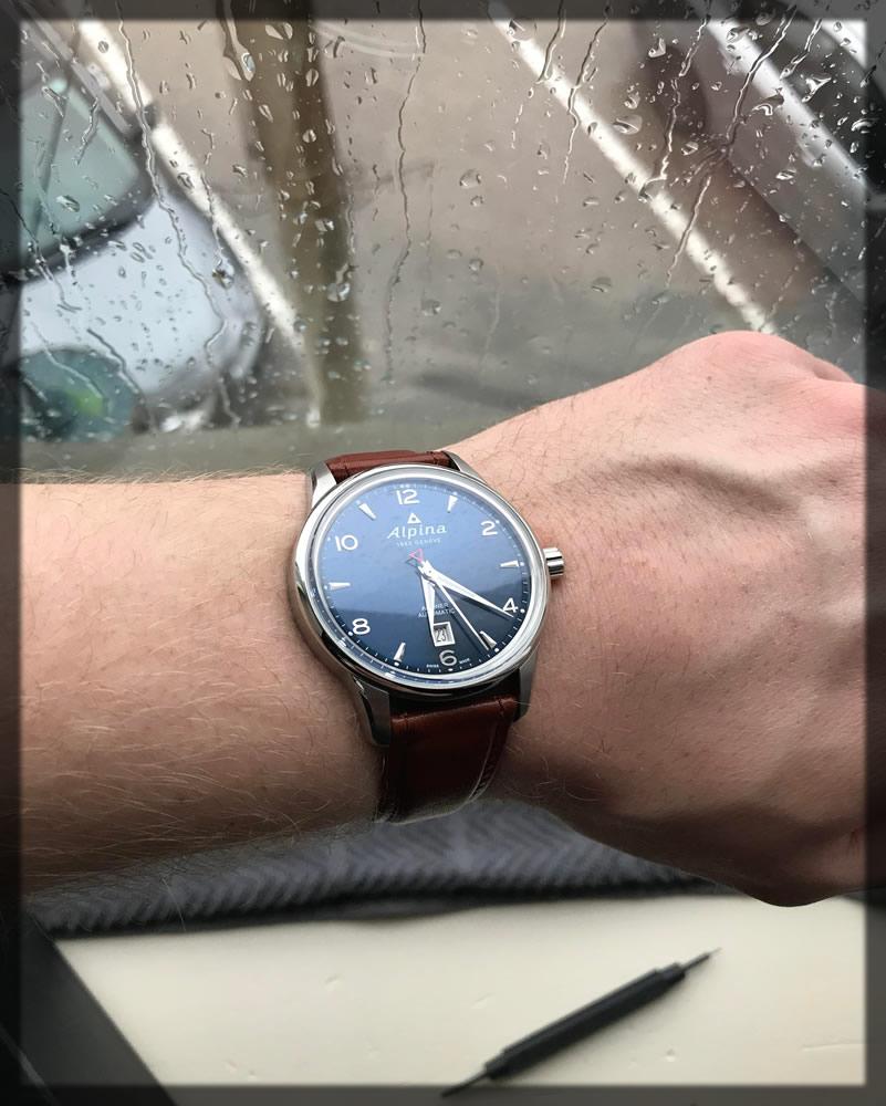 graceful alpina watch