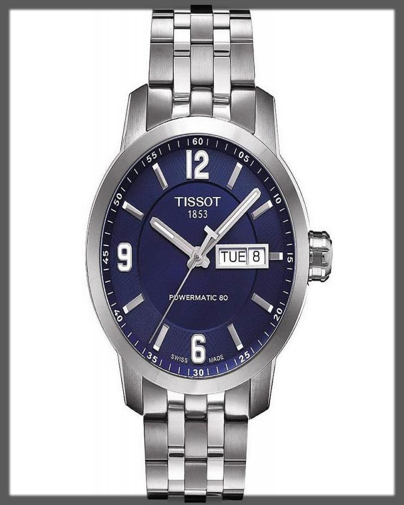 graceful tissot watch