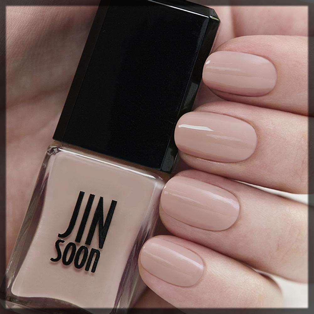 jinsoon nude nail polish