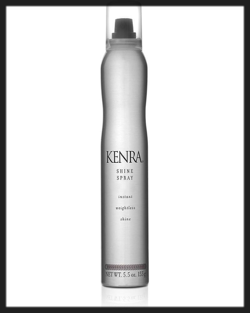 kenra best hair shine sprays