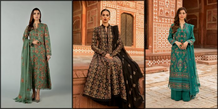 latest and beautiful bareeze winter collection for women