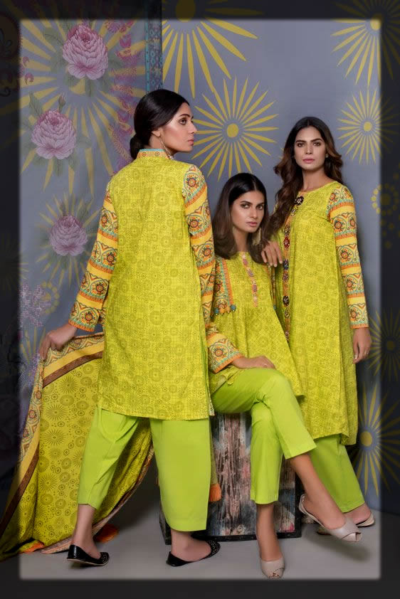 lime winter outfit for women
