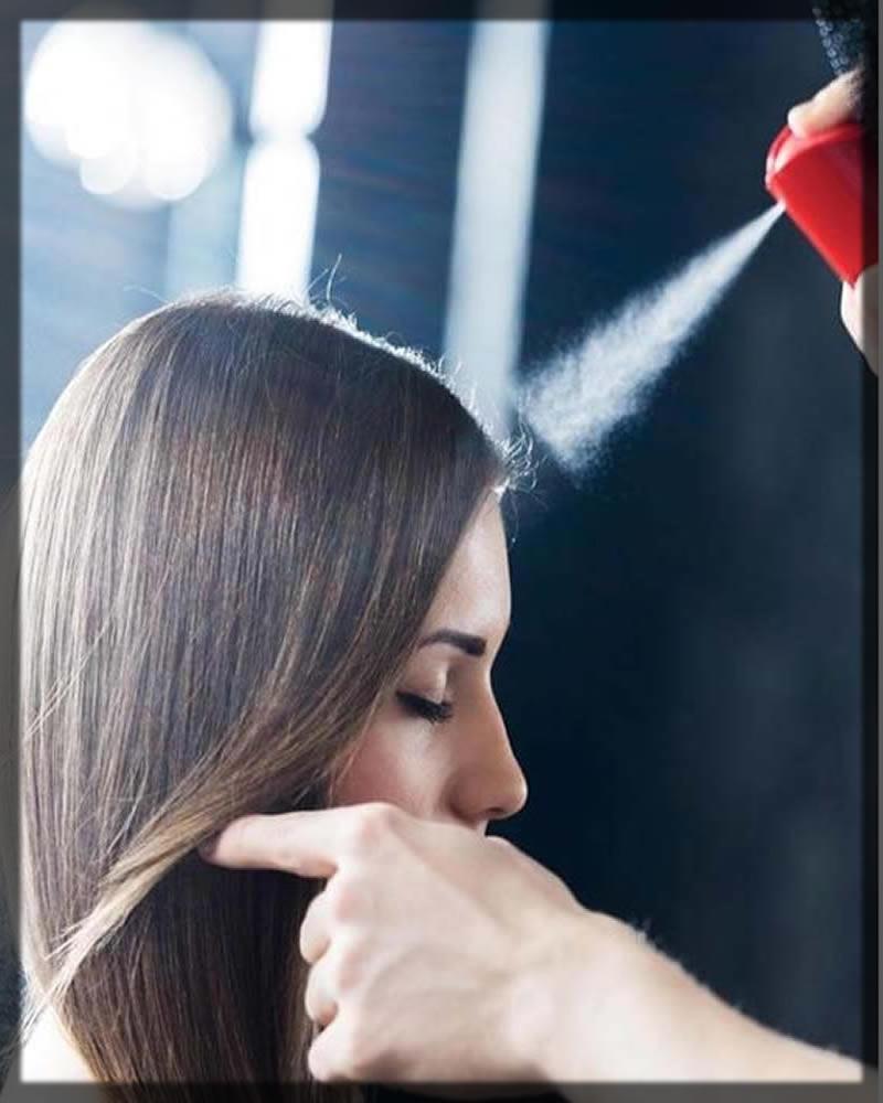 mizani shiny hair spray
