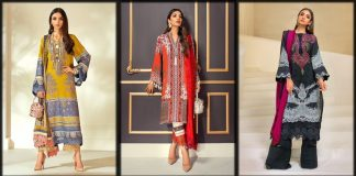 Sana Safinaz Winter Collection 2021- Embroidered Shawl Dresses [Prices]