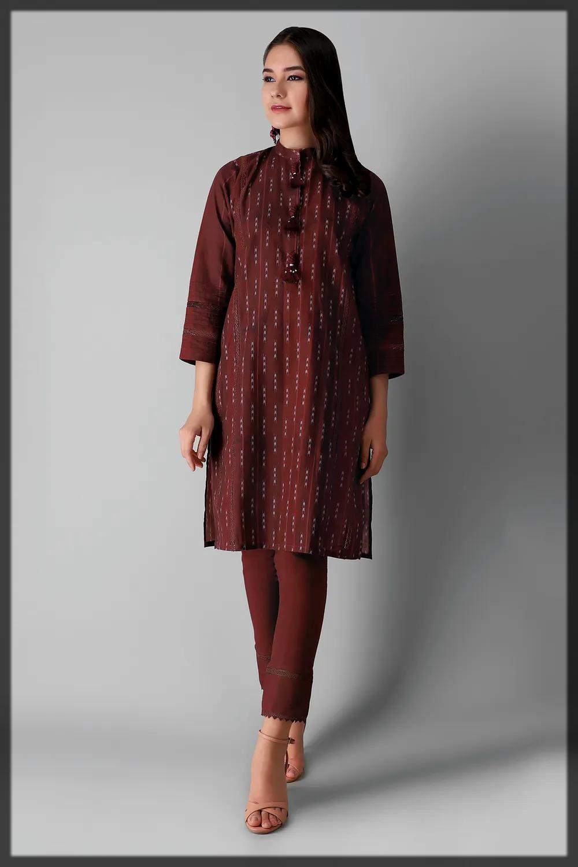 stunning khaddar suit by khaadi