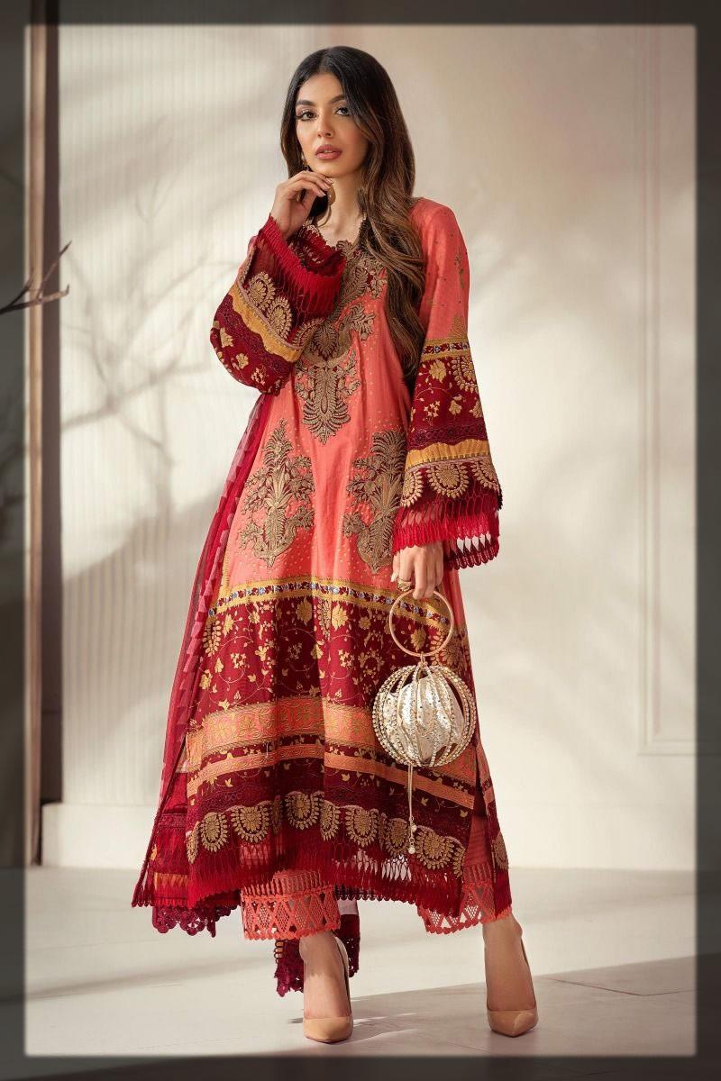 stylish rose dress