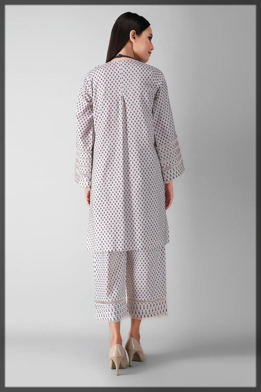 white khaadi suit