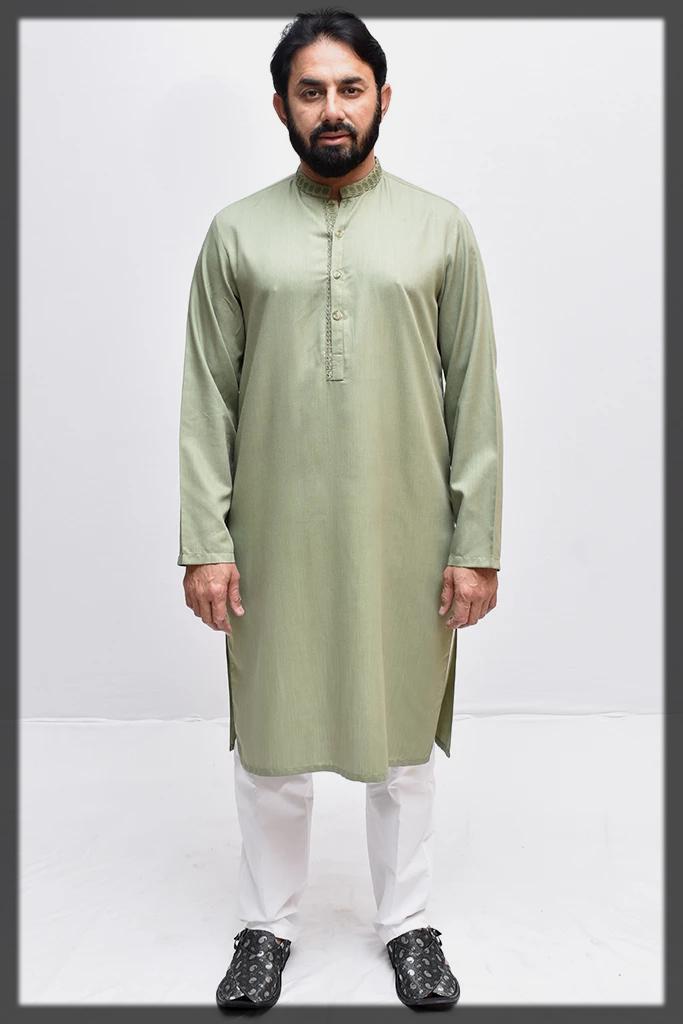 Awesome Saeed Ajmal Kurta Designs for Men