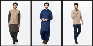 Latest Bonanza Satrangi Men Winter Collection 2021 with Updated Prices