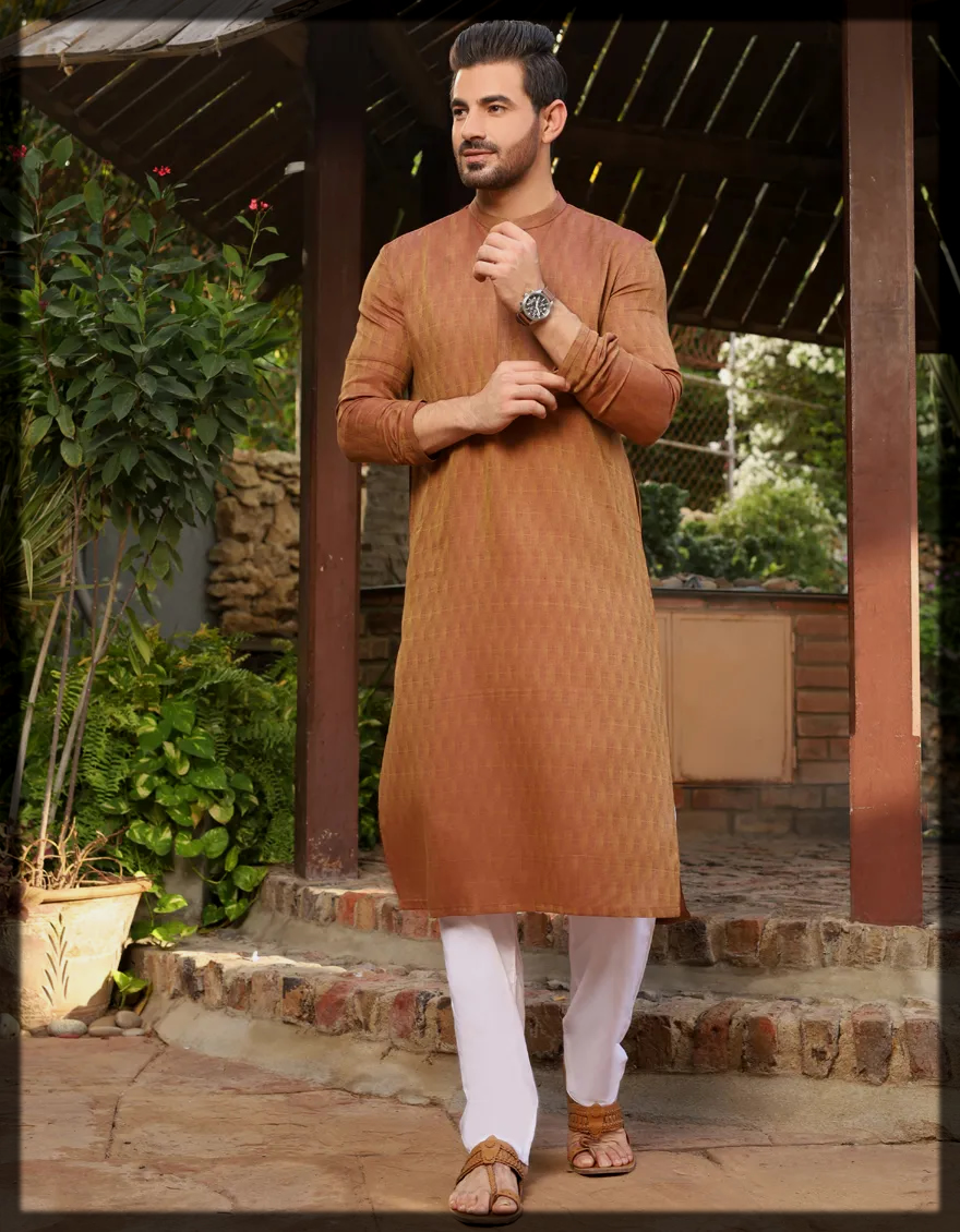 Dazzling Junaid Jamshed's Stylish Menswear Collection