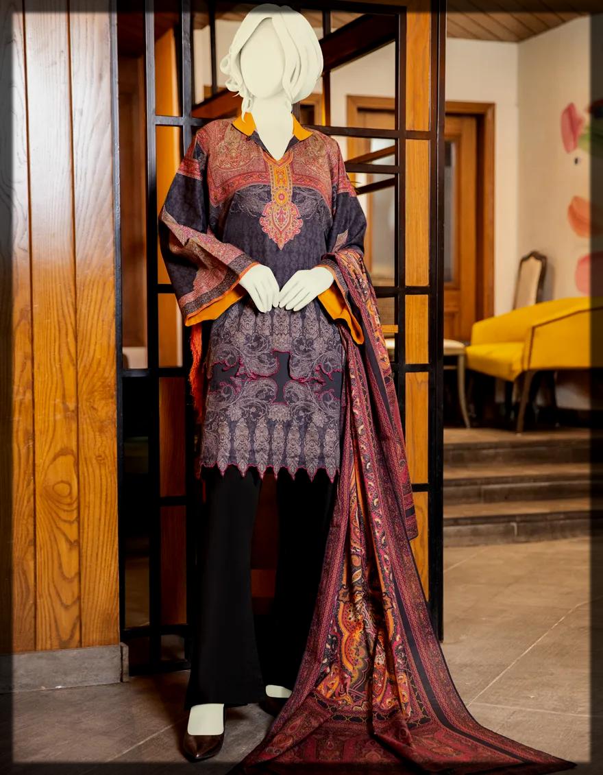 J. Winter Dresses for Pakistani Women