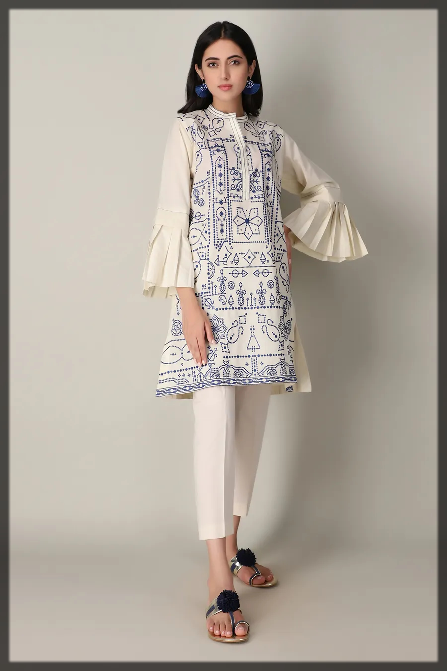 Latest and AttractiveWinter Kurta CollectionFor Women