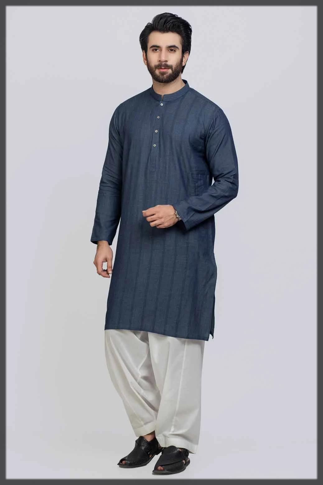 Wonderful Gul Ahmed Kurta Designs for Men
