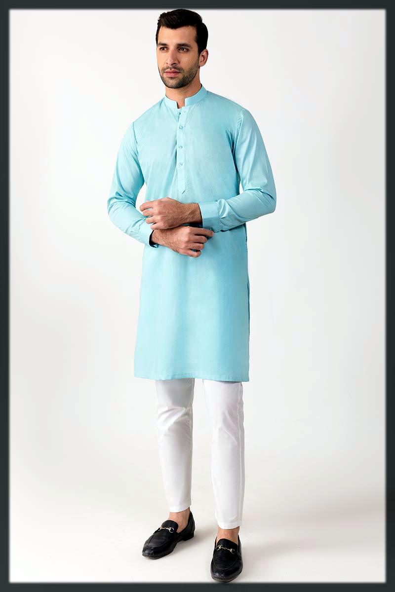 chic winter cotton kurta