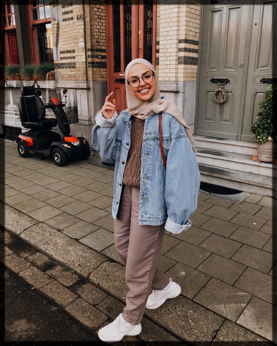 classy Winter Hijab Styles