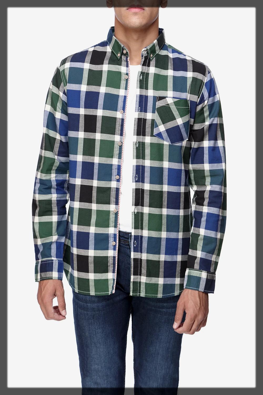classy check shirts